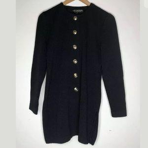ST JOHN Basics Santana Knit Jacket Blazer Sz S